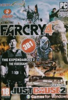 FARCRY-4(3B1)(2DVD)+JUST CAUSE-2/THE EXPEENDABLES-2/