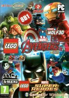 Сборник игр 8 в 1 (2DVD): LEGO Marvel's Avengers + 3DLC, LEGO Marvel Super Heroes, LEGO Rock Raiders, A-Men 2, Castle Crashers, Cobalt, LEGO Chess, LEGO Wolf3D