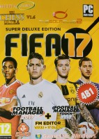 FIFA 2017 (3 DVD) /FOOTBALL MANAGER 2017/CHESS ULTRA/THE GOLF CLUB-2/
